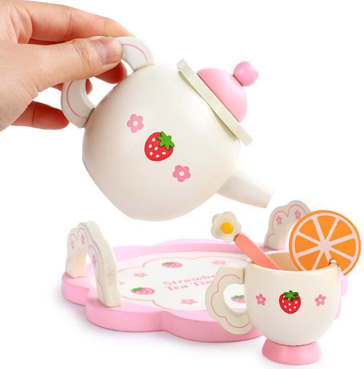 子供用品★知育玩具★おもちゃ・ホビー★遊びもの 木製茶具★