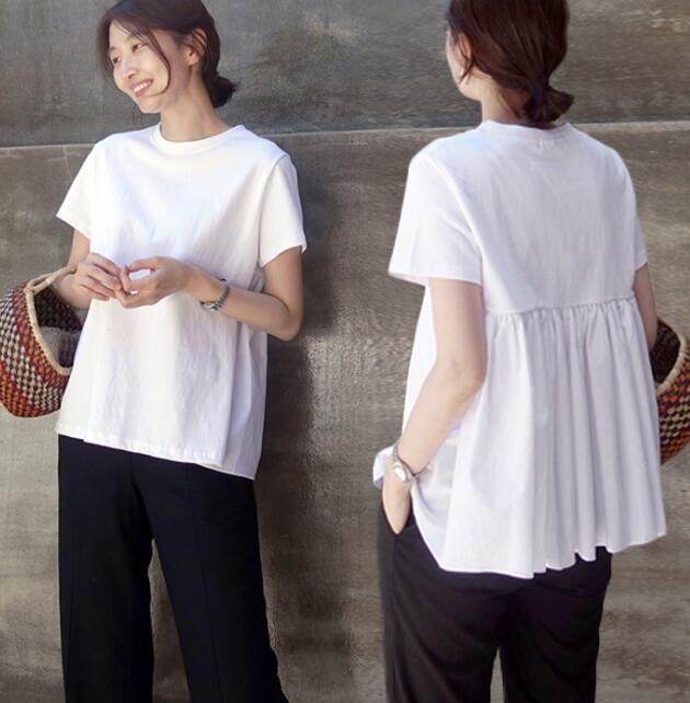 夏新作★レディースTシャツ★無地★2色 S-2XL