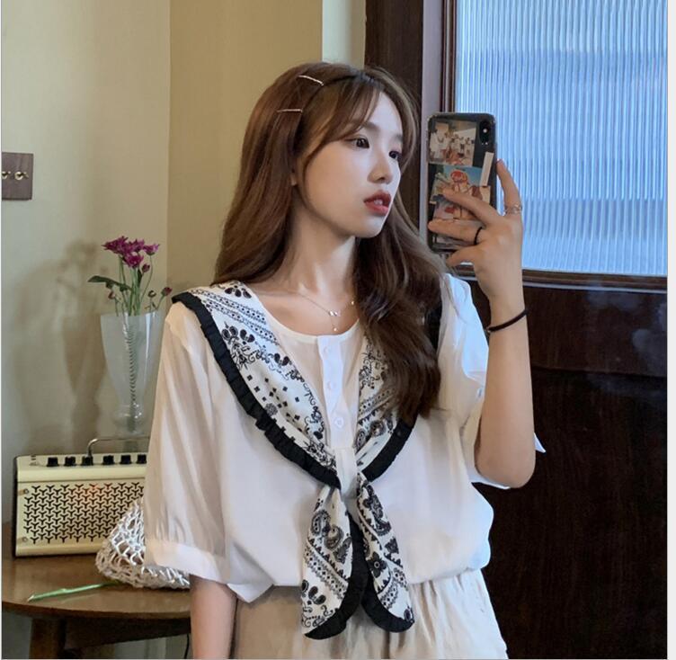 新作/人気新作/韓国風/女性トップス/涼しい/Tシャツ/半袖シャツ