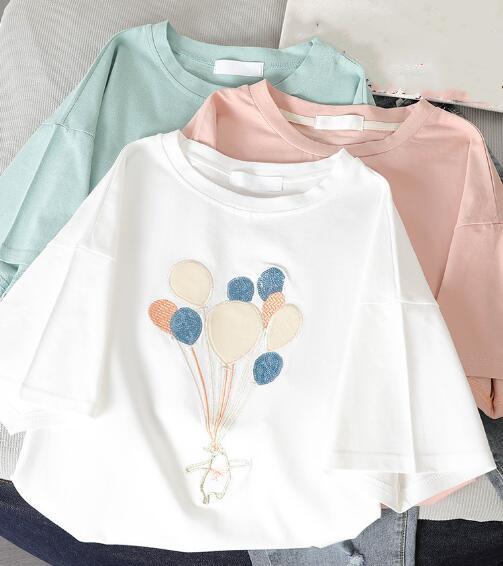 2020★夏新品★ファッション★Tシャツ★半袖★カジュアル★ゆったりした★4色S-XL
