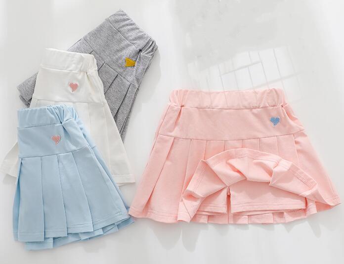 2020★夏新作★ファッション★人気★純色★半身スカート★子供服★4色110-150CM
