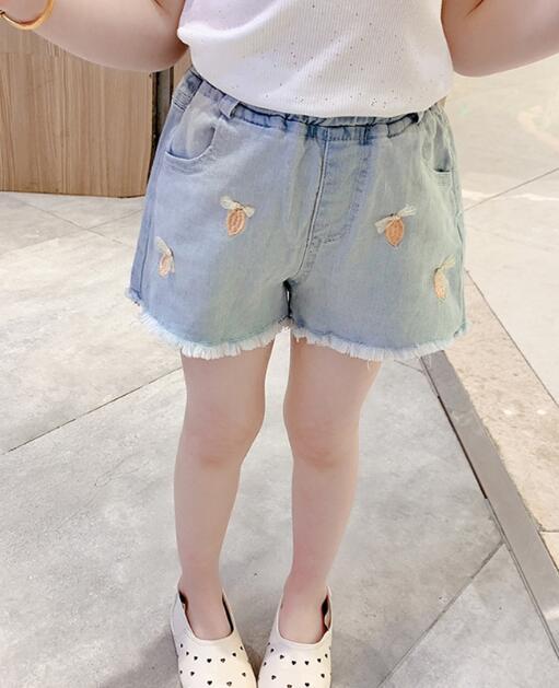 2020★夏新作★ジーンズ★子供服★キッズ★ショートズボン★パンツ★ファッション★2色7-15