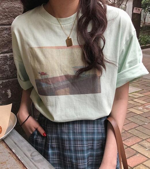 2020★夏新品★ファッション★カジュアル★Tシャツ★半袖★ゆったりした★3色M-2XL
