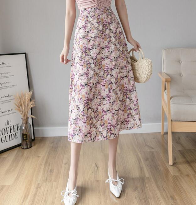 2020新作★レディース★ファッション★スカート★花柄★ロングスカート★可愛い★M-L★8色