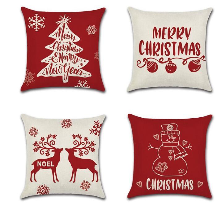 ★クッションカバー★抱き枕カバー★ソファー用★車用★インテリア装飾★装飾カバー★クリスマス