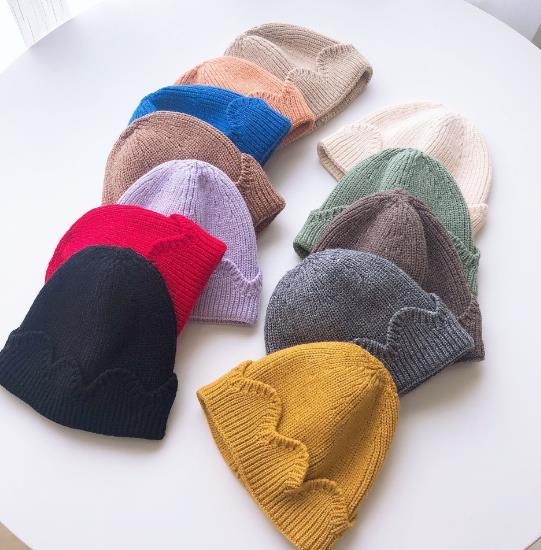 2020年新作★同梱でお買得★子供向け帽子★秋冬可愛い帽子★毛系★ニット帽子★10色