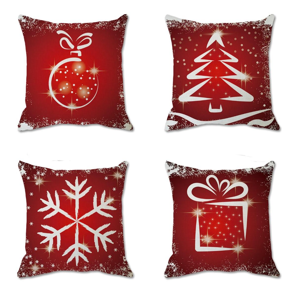クリスマス風新品/大人気/お買い得/抱き枕カバー/寝具/亜麻製品/部屋用品