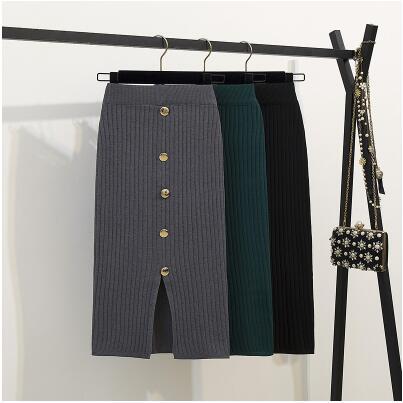 新作★大人気★レディースファッション★ニットスカート★ロングスカート★スカート