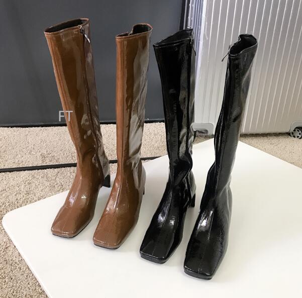 2020秋冬新品★ロングブーツ★ニーハイブーツ★ファッション靴★女★2色★35-39