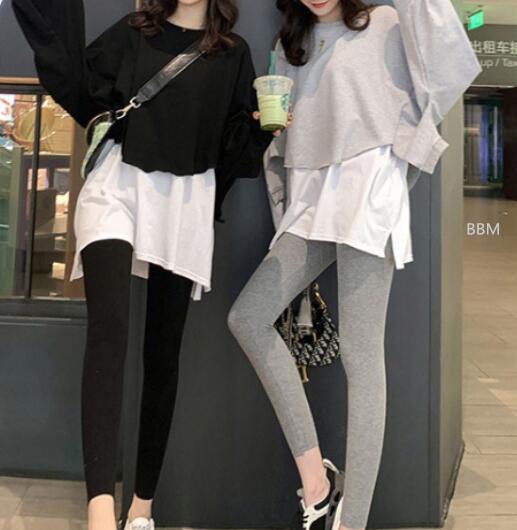 2020★秋冬新作★ファッション★着痩せ★パーカー+ズボン2セット★スーツ★2色S-2XL