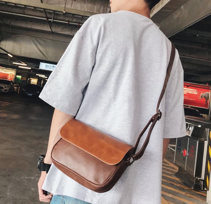 新作/復古/メンズバッグ/肩掛けかばん/ショルダーバッグ/男用バッグ