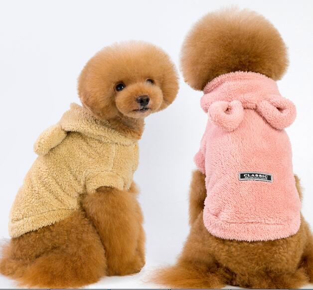 2020★超人気★ペット服★犬服彡★厚手★猫犬用品★3色S-XXL
