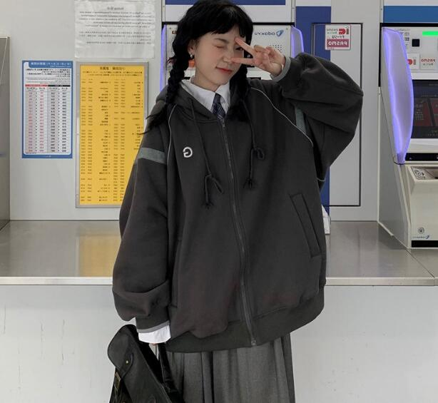 2020年新作★秋冬新品★長袖★トップス★コート★オーバーサイズ★シャツ★カジュアル★ M-XXL