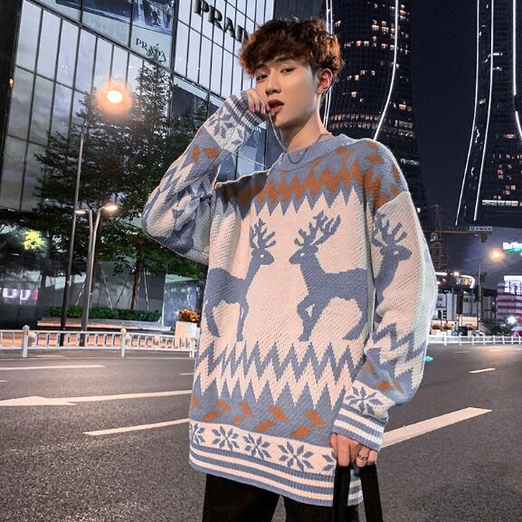 2020年新作★メンズ★トップス★長袖★シャツ★セーター★カジュアル★韓国風★2色★M-XXL