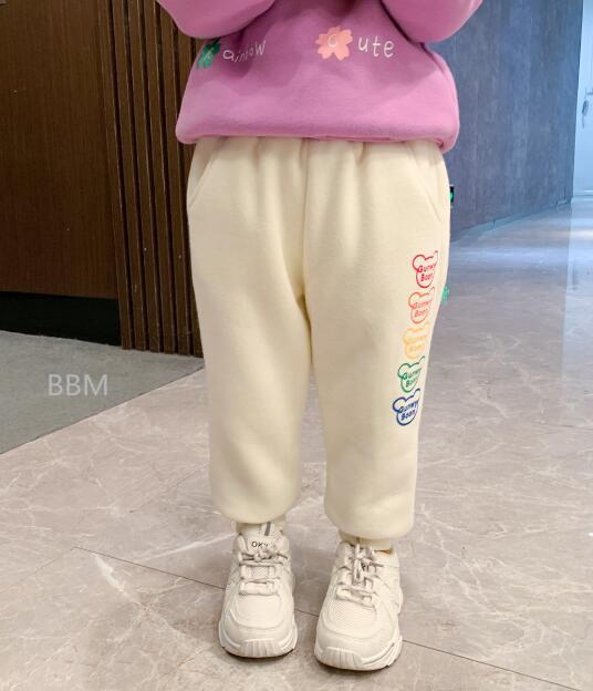 2020★秋冬新作★保温★裏起毛★カジュアル★ロングズボン★パンツ★3色90-130CM