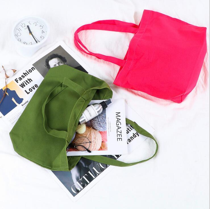 新品★エコバッグ★買い物袋★ショッピングバッグ★ズックバッグ★収納袋★手提げ袋★4色