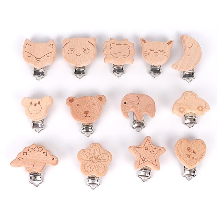 2021新作★大人気インテリア★子供木質おもちゃ★可愛い赤ちゃん用おしゃぶりホルダー