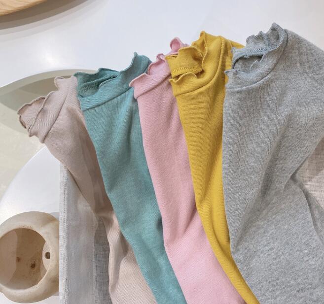 2021夏新作★子供服★子供シャツ★ベビー★tシャツ★キッズ★韓国子供服★女の子★5色80-130