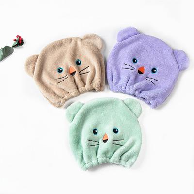 レディース★子供★かわいい★ヘアキャップ★韓国風★ファッション浴帽★多色