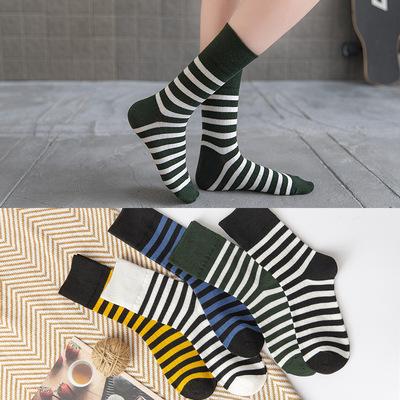 ファッション小物★♪レディース靴下★个性★♪ストライプで筒ソックス★♪ストッキング♪人気新作★♪