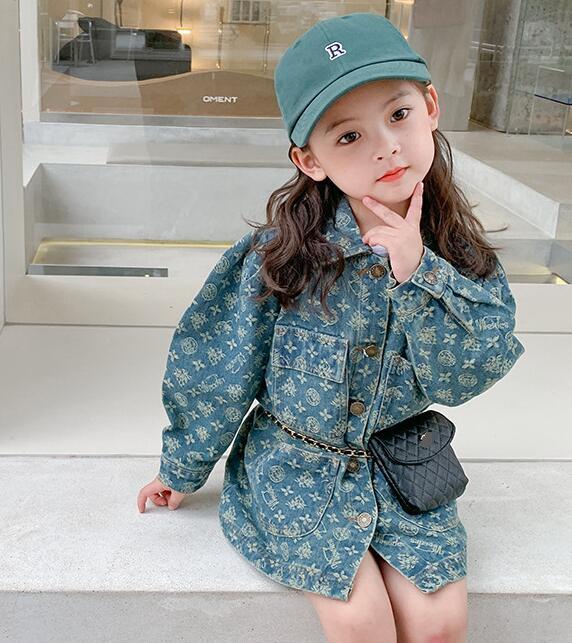 2021新品★子供服 デニムジャケット コート★90-140cm★