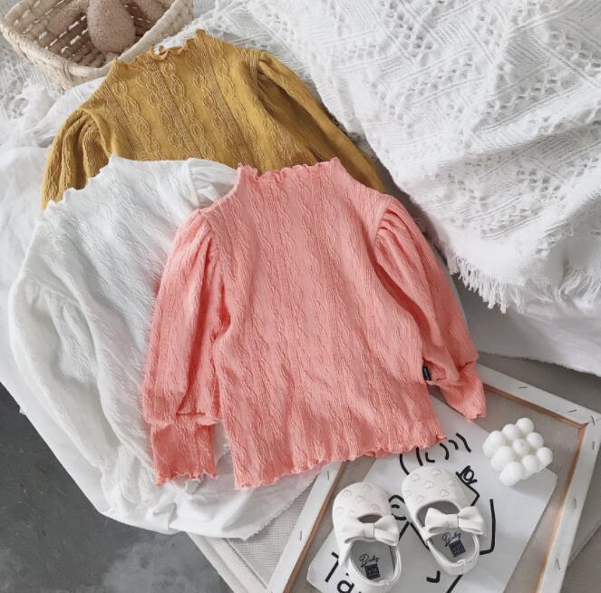 2021秋新作★大人気アパレル★女の子子供服★キッズ服★可愛い長袖Tシャツ