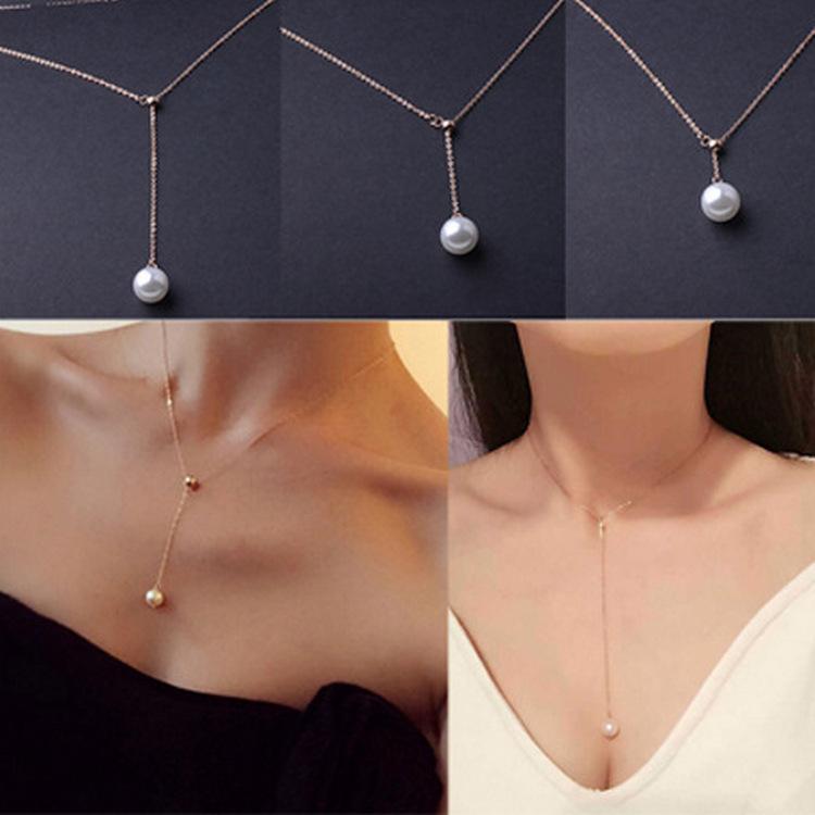 アクセサリー・レディース・ファッション・真珠・ネックレス・気質・新品