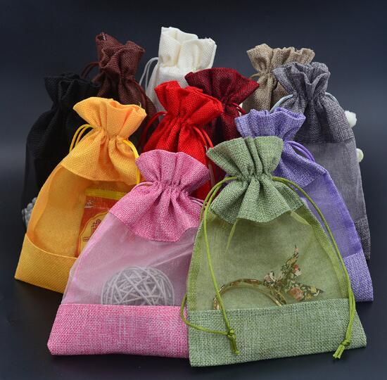 【業務用】包装資材★収納袋★包装袋★巾着袋★ギフトバッグ★プレゼント★11色17*23