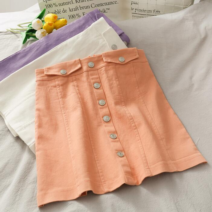 新作 チェック柄 爆買いセール 欧米風 ハイウエスト  スカート 夏の匂い  ミニスカート