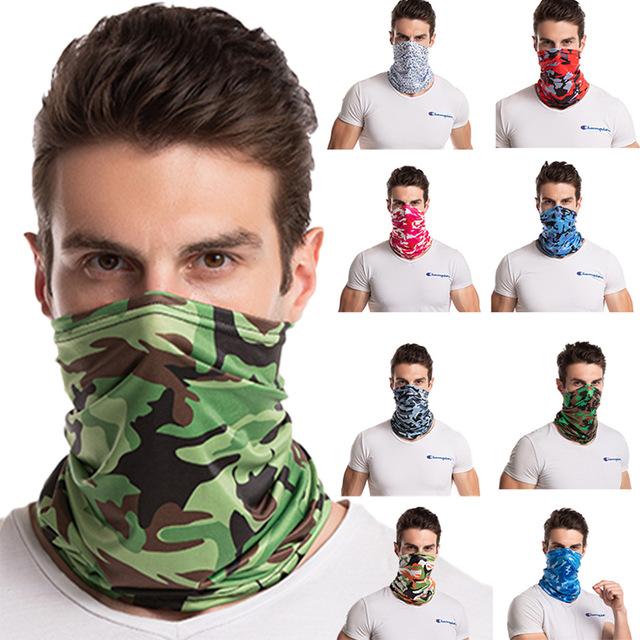 男女兼用マスク♪日焼け防止★薄く通気性★冷感マスク★登山★自転車★ネックカバー★UVカット