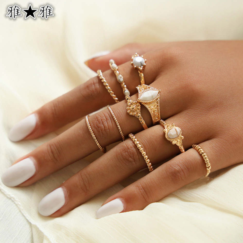 新作★10点セット★素敵★可愛いリング★アクセサリー★女性の指輪★可愛い★セクシー