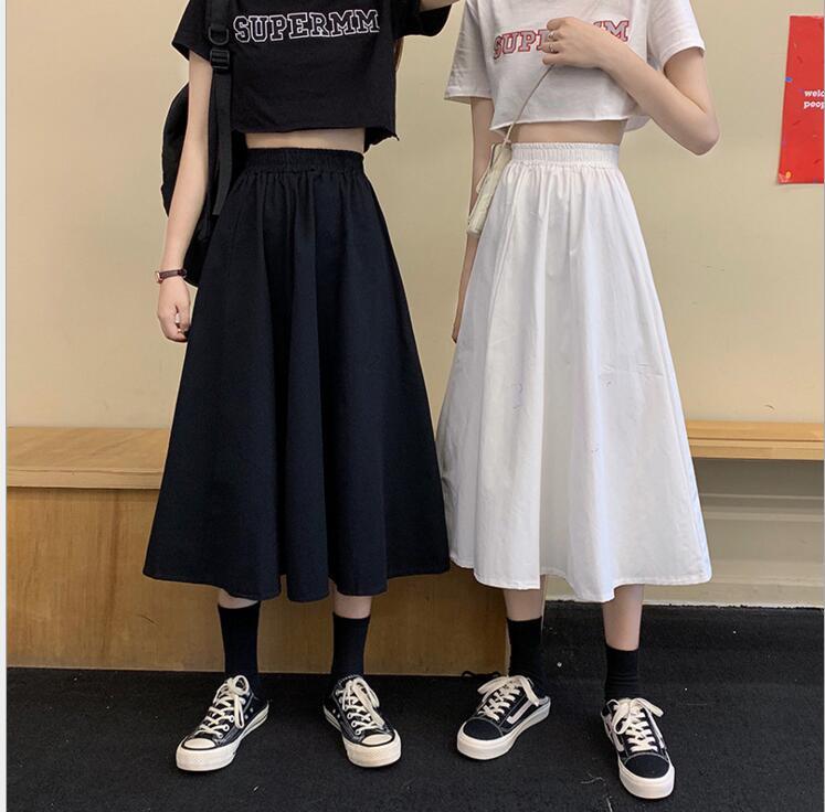 新作/爆買いセール/ハイウエスト/スカート/素敵なデザイン/A型スカート