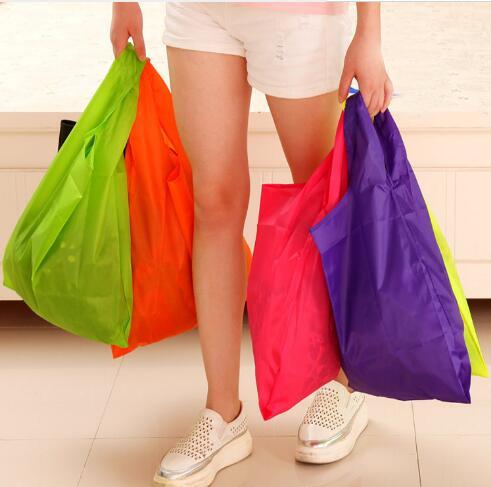 新登場!!★折りたたみバッグ ★ショッピングバッグ★ハンドバッグ★エコバッグ★小物収納バッグ