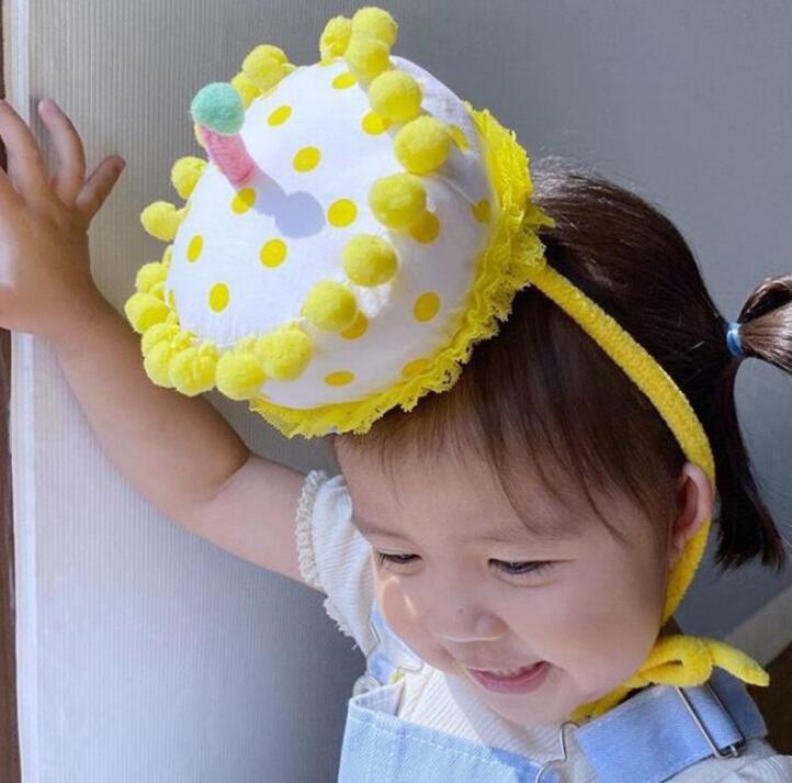 ★お祝い帽子★装飾 子供用&大人用★誕生日 パーティー ケーキ帽子★