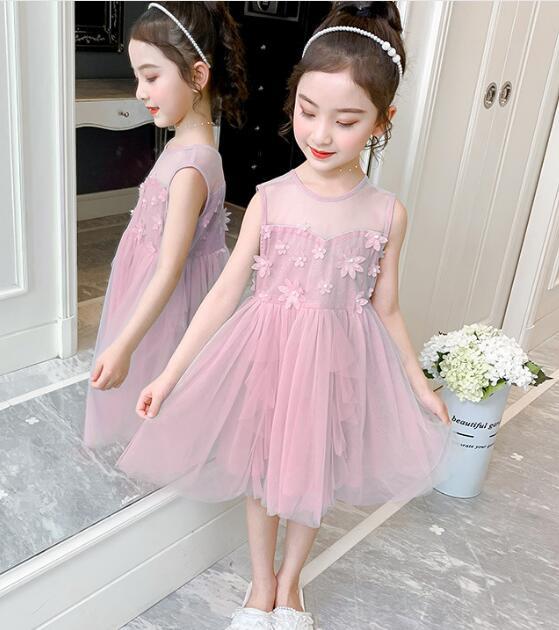 2020★夏新作★ファッション★おしゃれ★ワンピース★サンドレス★スカート★子供服★3色110-150CM