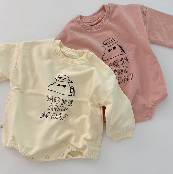 2020年春秋向け★ベビー&キッズ服 ロンパース ★66-90★2色
