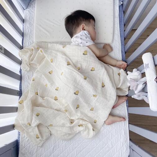 2020年新型★ベビー赤ちゃん 新生児バスローブ ★薄手 吸水性抜群バスタオル★120*120cm