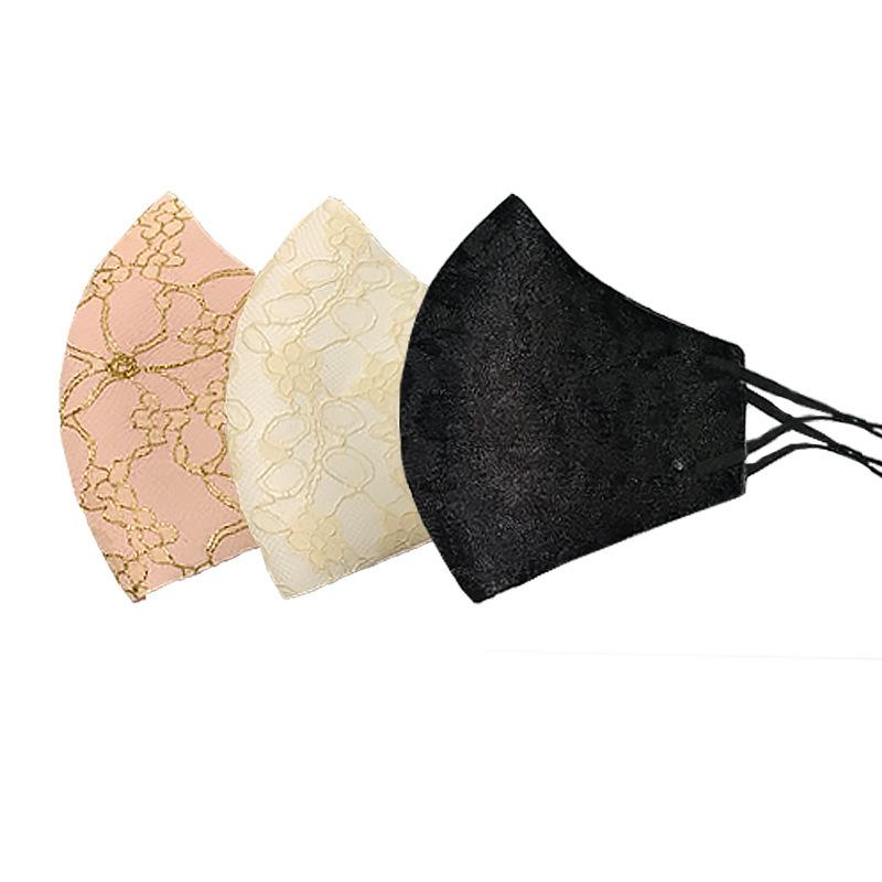 立体マスク★冷感★レースマスク★涼しい★飛沫防止★花粉 ★呼吸がしやすい★レディース用マスク