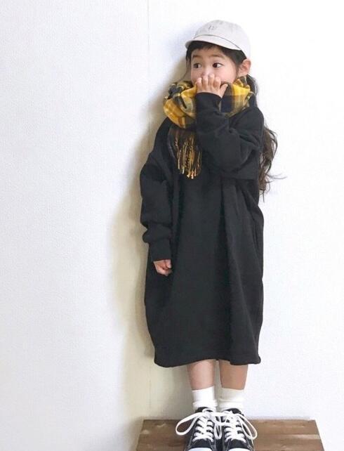 2020年秋新品★★子供服 ワンピース ★90-140cm★2色