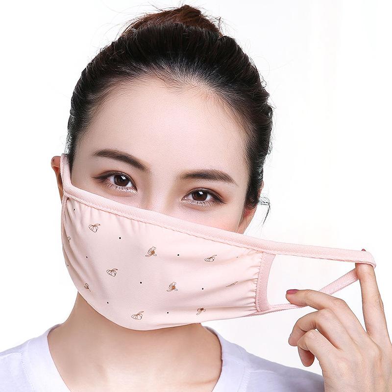 大人用・レディース向け・綿のマスク・マスク・UV対策・防塵・焼け防止・通気性