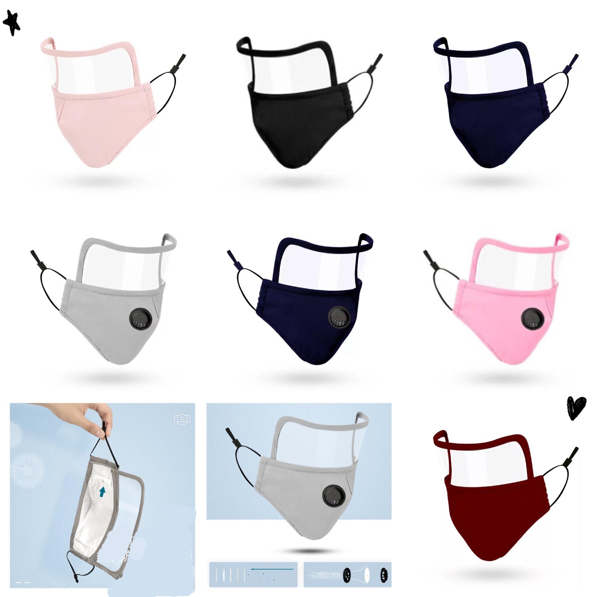 大人マスク・PVCマスク付け・綿のマスク・防塵・通気性・軽薄