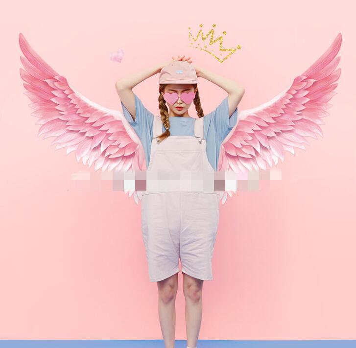 ★DIY★壁紙★天使の羽★壁ステッカー★貼り紙★室内 装飾★壁 シール★壁装飾★60*90cm