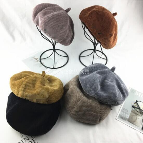 2020新入荷★親子帽子★秋冬 帽子 ベレー帽子 レディース帽子 キッズ用帽子★6色