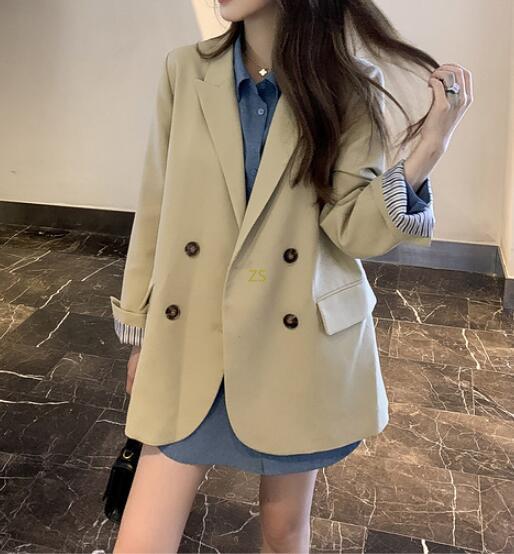 2020★秋冬新作★ブレザー★コート★外套★ファッション★高級感★長袖★2色S-XL
