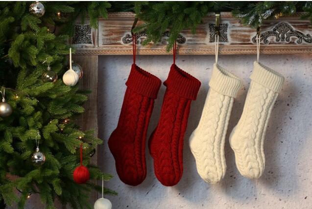 新作★クリスマス用品★靴下★装飾用品  46CM