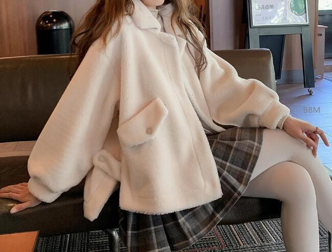 2020★秋冬新作★保温★厚手★裏起毛★ファッション★コート★外套★長袖★S-XL