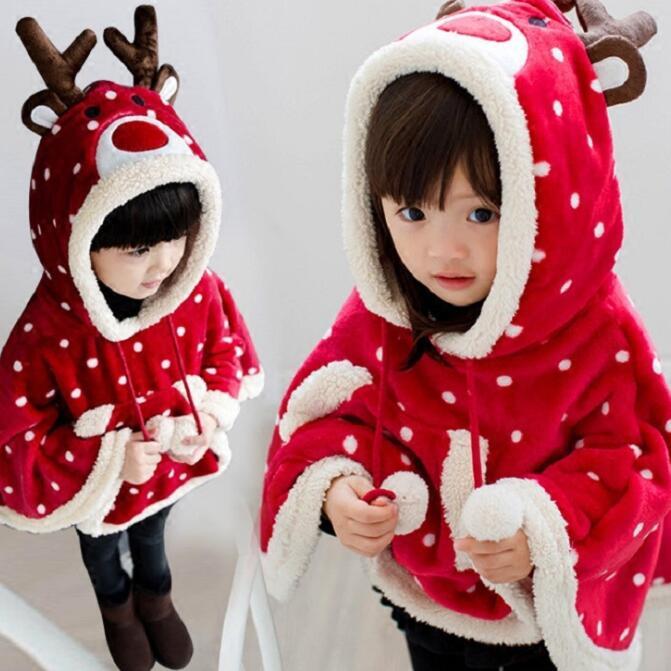 クリスマス用品★子供服★マント★キッズコート★90-150