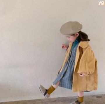 新作★大人気アパレル★女の子子供服★キッズ服★コート★ジャケット★コーデュロイ
