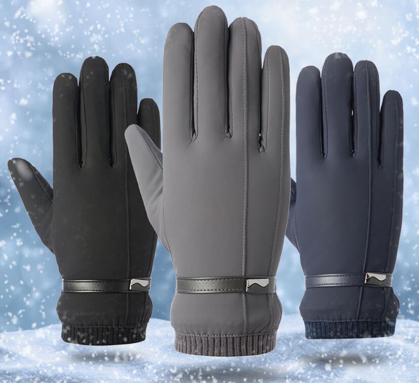 秋冬新作/戸外用手袋/自転車用手袋/メンズ手袋/防寒/暖かい/裏起毛