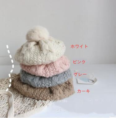 新入荷★冬 帽子 親子スタイル★暖かい帽子 ニット帽★バレー帽★4色